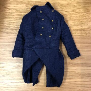 VINTAGE ACTION MAN - FRENCH FOREIGN LEGION - DARK BLUE GREATCOAT